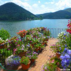 Lake Piediluco, Umbria via oreeko