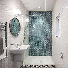 Image result for hexagon tile shower