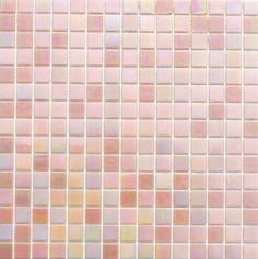 Mosaikfliese PERLMUTT ROSA MIX 327x327mm 1Matte Mosaikfliesen Glasmosaik Perlmut, mosaikpalast24.de