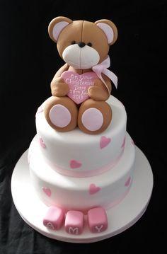 Teddy Bear cake www.cakesbykaren.co.uk