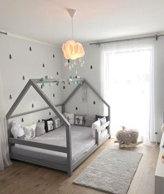 Gray TERY Cabin Bed - BellyStar - ideas for children& room 2019 . - Gray TERY Cabin Bed – BellyStar – ideas for children& room 2019 – dec - Toddler House Bed, Boy Toddler Bedroom, Baby Bedroom, Baby Boy Rooms, Baby Room Decor, Nursery Room, Toddler Boy Room Ideas, Toddler Boy Beds, House Beds For Kids