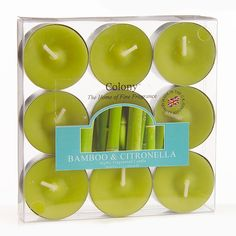 Limeade tea lights, add a splash of colour to your party tables.  £4.99 from the Fuschia Boutique at www.fuschiadesigns.co.uk.