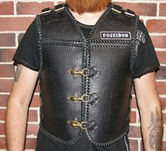Leather Vest, Vests, Biker, Trending Outfits, Unique Jewelry, Handmade Gifts, Mens Tops, T Shirt, Jackets