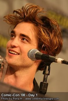 young robert pattinson.... oblivious to the hell that is about to be unleashed upon him ... also known as Twihards!!