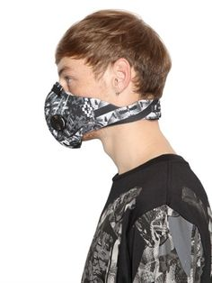 MARCELO BURLON X RESPRO® MASKS SNAKE PRINTED POLLUTION MASK