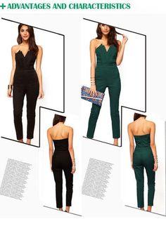 New Fashion Sexy Lady's Off-shoulder V-neck Backless Slim Jumpsuit