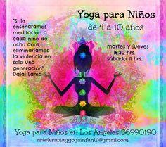 Yoga para Niños en Los Ángeles.