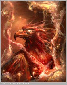 Fiery Griffin