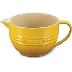 Le Creuset 2-Qt. Stoneware Batter Bowl -   for when I make pancakes in my cabin someday
