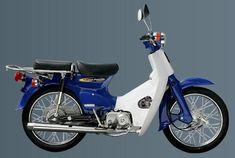 Honda C90 Adventure C90 Honda, Honda Cub, Bike Icon, Motorcycle Icon, Indian Dark Horse, Vintage Honda Motorcycles, Classic Japanese Cars, Honda Motors, Beach Buggy