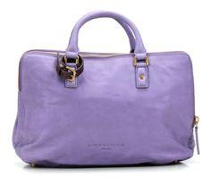 wardow.com - Tasche von Liebeskind, Metallic Suede Koko Handtasche Leder lila 41 cm
