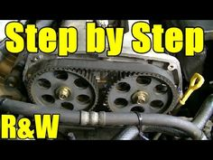 This is part 1 of a 2 video series where I show you the step by step procedure for removing and replacing the timing belt, water pump, the timing belt tensio...