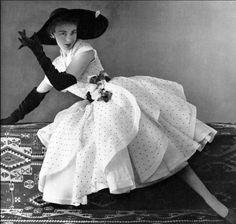 Dior. Photo by Phillipe Pottier, 1951.
