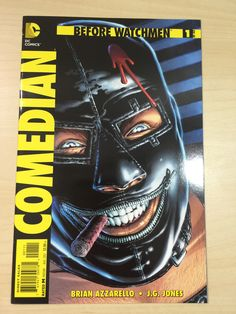Before Watchmen #1 ***The Comedian***