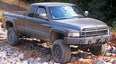 Dodge Ram COMBATT The military version of the Chrysler Group's Dodge Ram pickup features a state-of-the-art hydro-pneumatic suspension system able to negotiate severe off-road terrain