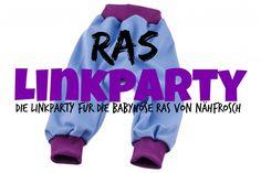 Freebook Schnittmuster Babyhose RAS von Nähfrosch Linkparty