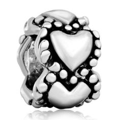Pugster Heart Spacer Pattern Bead Fit Pandora Chamilia Biagi Charm Bracelet Pugster. $12.49. Fit Pandora, Biagi, and Chamilia Charm Bead Bracelets. Free Jewerly Box. Money-back Satisfaction Guarantee. Unthreaded European story bracelet design. Pugster are adding new designs all the time