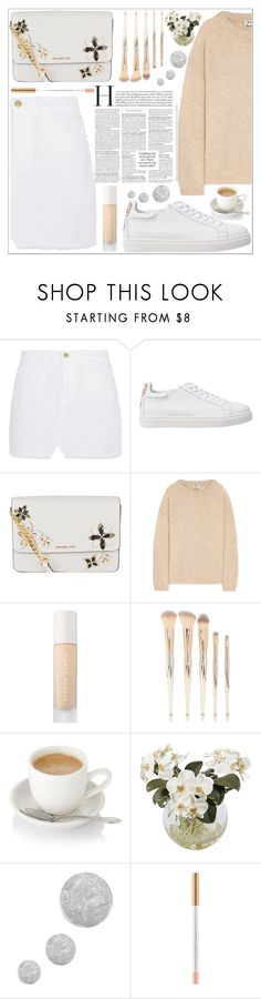"""""""style"""" by lena-volodivchyk ❤ liked on Polyvore featuring Frame, Sophia Webster, MICHAEL Michael Kors, Acne Studios, Puma, Forever 21, Frontgate and Topshop"""