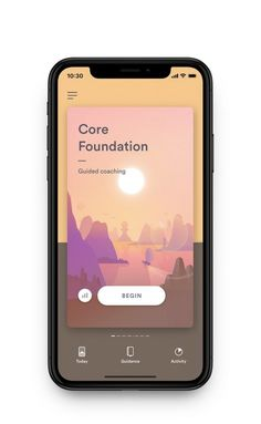 BioBase app iphoneX guided coaching – Pin's Page Ios App Design, Mobile App Design, Mobile Ui, Interface Design, Interface App, Simple Web Design, Web Design Tips, Web Design Company, Design Brochure
