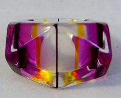 Groovy Unusual New Old Stock Trapezoid by MelaniesFabFinds on Etsy, $22.00