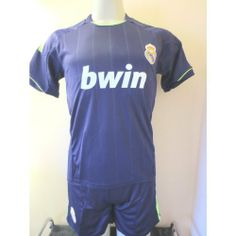"""REAL MADRID # 7 RONALDO AWAY SOCCER YOUTH SMALL SET JERSEY & SHORT (FOR 7 TO 8 YEARS OLD).NEW by ALLSOCCER. $27.95. SOCCER. JERSEY AND SHORT. FOR 7 TO 8 YEARS OLD. NEW. YOUTH SET SMALL. NEW REAL MADRID AWAY SOCCER YOUTH SET SIZE YOUTH SMALL  # 7 RONALDO   A MUST HAVE FOR A REAL SOCCER FAN!   BRAND NEW IN BAG  YOUTH SMALL FOR 7-8 YEARS 16"""" ARMPIT TO ARMPIT AND 21""""  NECK TO BOTTOM     GORGEOUS SET.REAL MADRID LOGO.  100% POLYESTER.GREAT QUALITY.  NAME AND NUMBER ON BA..."""
