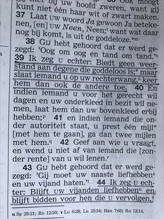 Color codes in a Dutch bible