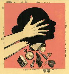 "Daniel Bejar illustration: ""Clutter"""