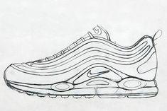Nike Air Jordan Clipart | Turnschuhe, Schuhzeichnung und