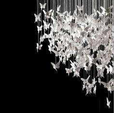 Silver chandelier modern poverty
