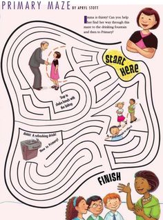 LDS Games - Mazes - Primary