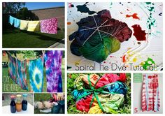 We have so much fun (messy) making tie dye shirts with our cousin at our summer cousin camp!