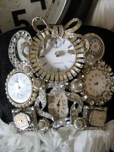 Lovely antique time pieces