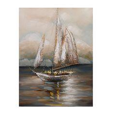 Moonlight Voyage Canvas Art | Kirklands