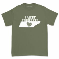 Talkin Tennessee Shirt Casual Morgan Wallen T-Shirt Unisex Cowboy Country Music Summer Short Sleeve Tops Tee Summer Shorts, Online Shopping Clothes, Country Music, Tennessee, Casual Shirts, Unisex, Women's Tees, Sleeves, Mens Tops