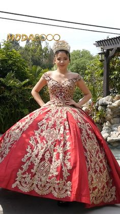 Book you appointment to say yes to your dream dress at Moda2000 👑Instagram: @moda2000inc (714)774-7537 Quince Dresses, Sweet 16 Dresses, Burgundy And Gold, Quinceanera Dresses, Formal Gowns, Dream Dress, Off The Shoulder, Wedding Gowns, Ball Gowns