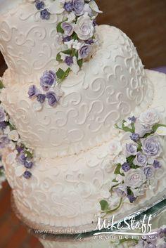 #wedding cake #wedding cake topper #tiered cake Michigan wedding #Mike Staff Productions #wedding details #wedding photography #white