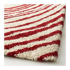 EIVOR CIRKEL Rug, high pile IKEA The dense, thick pile dampens sound and provides a soft surface to walk on.