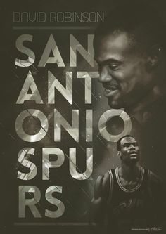 Vintage NBA posters - Collection 2 - by Caroline Blanchet, via Behance