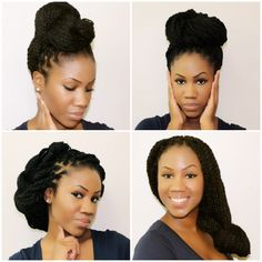 Styles for Senegalese/Marley Twists Part Two   Kyss My Hair