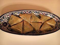 Samossas aux épinards et au curry - Recette de cuisine Marmiton : une recette
