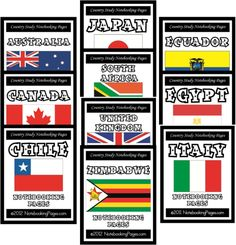 FREE Country & Province Study Notebooking Pages ($29.95 Value – Limited Time!)