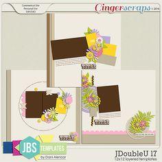 JDoubleU 17 Templates by JB Studio (Commercial Use)