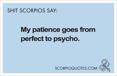 Shit Scorpio Says #043