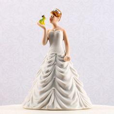 Princess Bride Kissing Frog Figurine #theweddingoutlet