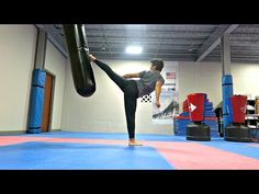 Fun Exercises For Improving Power| Taekwondo Kicking Training - YouTube