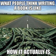 It sounds so much easier when you first think of it. Writing Images, Book Writing Tips, Writing Quotes, Book Quotes, Writing Corner, Editing Writing, Writer Memes, Book Memes, Writing Problems