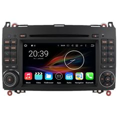 "7"" Android Autoradio Car Car Multimedia Stereo GPS Navigation DVD Radio Audio Head Unit VW Volkswagen Crafter 2006 2007 2008"