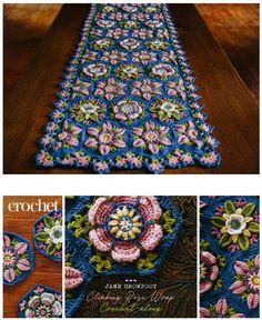 Crochet Cap, Crochet Home, Crochet Motif, Crochet Shawl, Crochet Crafts, Hand Crochet, Crochet Projects, Crochet Stitches Free, Crochet Square Patterns