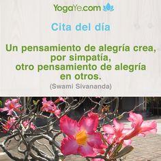 Alegría crea alegría en otros:-)