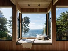This Renovated Sea Ranch Retreat Is an Absolute Must-See - Dwell #sea #ranch #windows